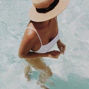 Kohl's summer hat.